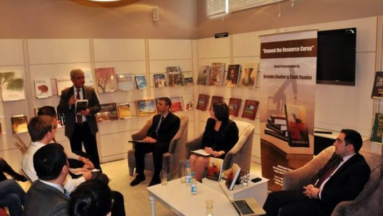 "ADA Book Center hosts a presentation of a newly-released book ""Beyond The Resource Curse"""