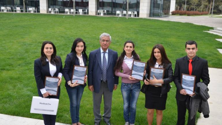 "Essay Competition Award Ceremony for the essay competition contest on ""Heydar Aliyev and Oil Diplomacy"""