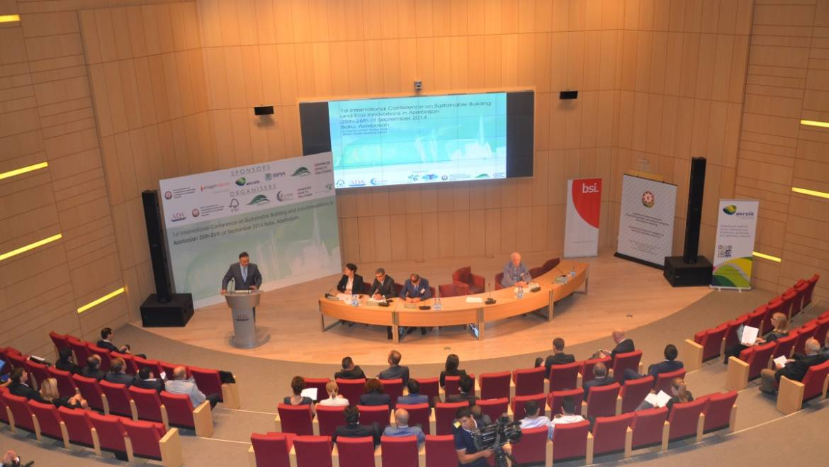 1st International Conference on Sustainable Building and Eco-Innovations in Azerbaijan