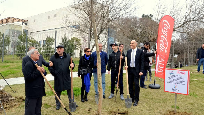 Tree-planting campaign in Dada Gorgud Park