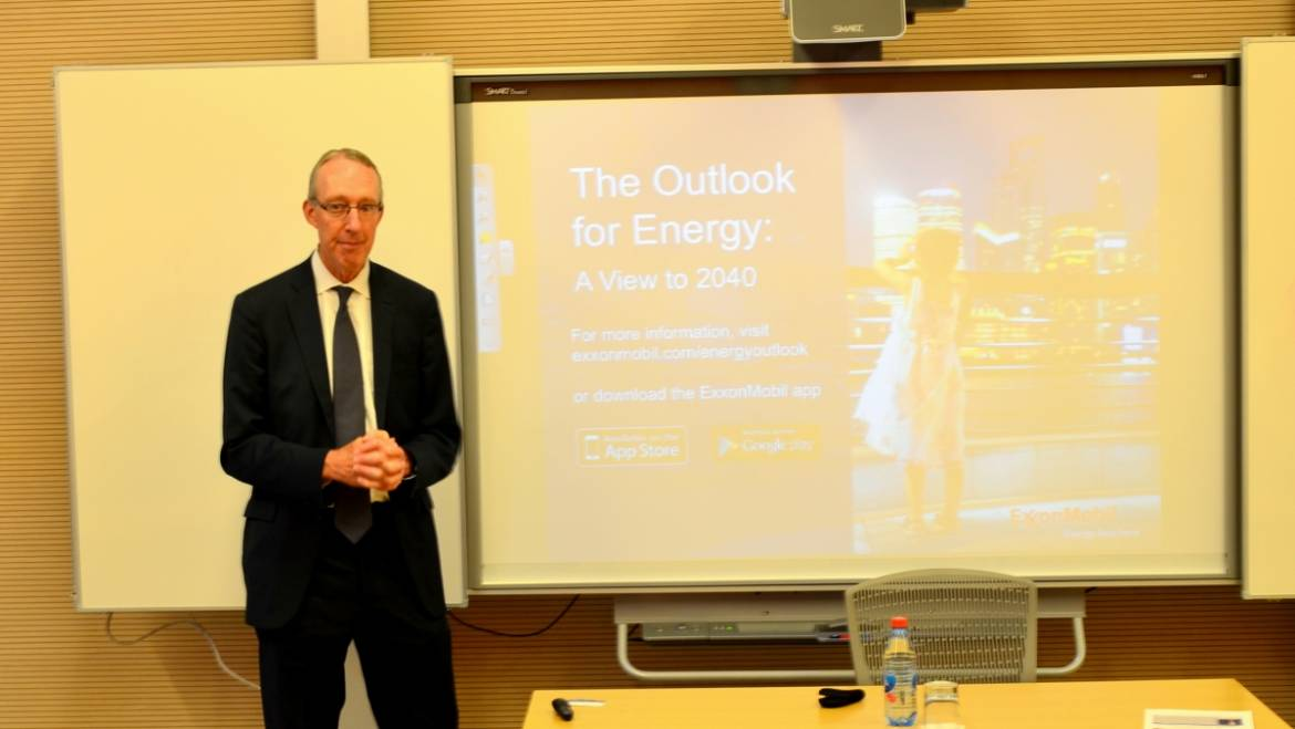 ExxonMobil's Energy Outlook 2015 at CCEE Round-Table Series