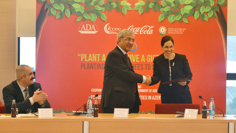 CCEE of ADA University and Coca Cola Company singed a Memorandum of Understanding