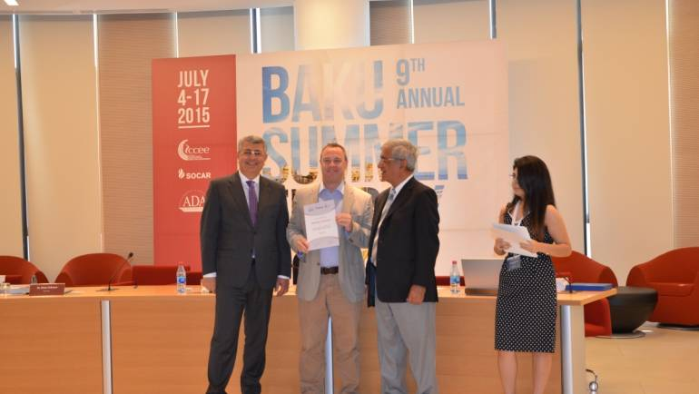 Caspian Center for Energy and Environment of ADA University successfully completed its 9th Baku Summer Energy School (BSES)