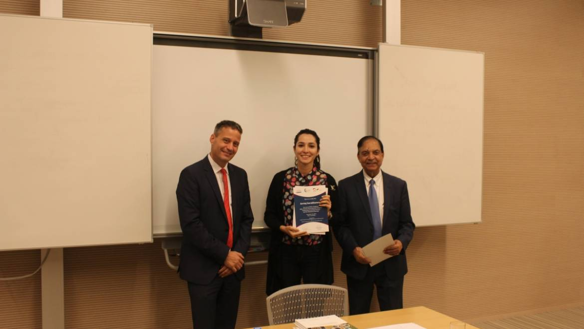 CCEE of ADA University in partnership with GIZ successfully completed the 1st annual Baku Autumn Environment School