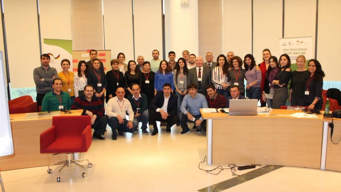 The CCEE of ADA University in partnership with GIZ successfully completed the 2nd annual Baku Autumn Environmental School