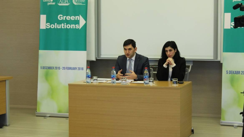 """Green solutions"" essay contest"