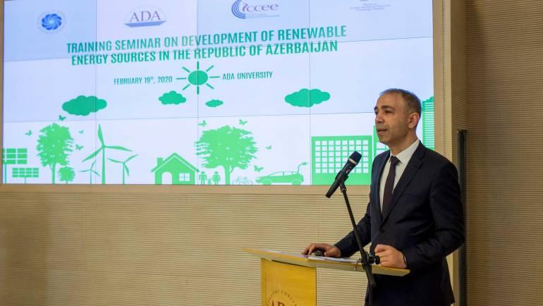 Training Seminar on Development of Renewable Energy Sources in the Republic of Azerbaijan